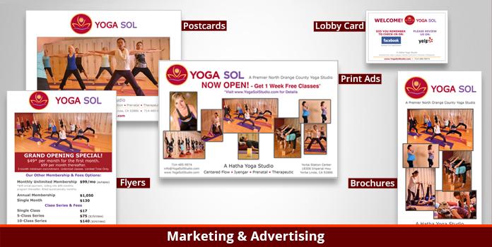 Yoga Sol Studio - Marketing and Advertising - Orange County, CA