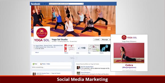 Yoga Sol Studio - Social Media Marketing - Orange County, CA