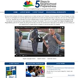 5 Steps LA - Website Design for the City of Los Angeles