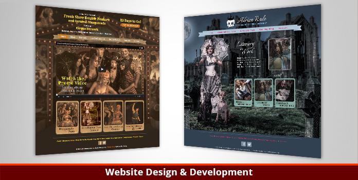 Rule Entertainment - Website Design & Development