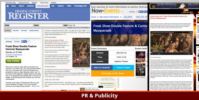Rule Entertainment - Publicity & PR